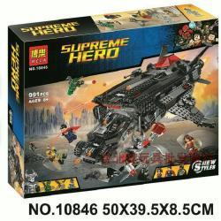 เลโก้จีน BELA.10846 ชุด Justice League Flying Fox Batmobile Airlift Attack