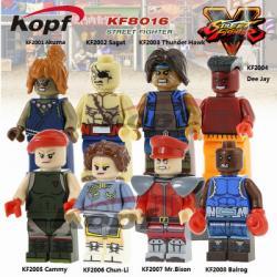 เลโก้จีน KF.2001-2008 ชุด Street Fighter ( สินค้ามือ 1 ไม่มีกล่อง )