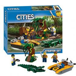 เลโก้จีน Bela.10708 ชุด Jungle Starter Set