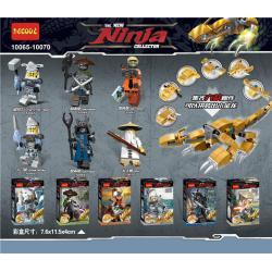 เลโก้จีน Decool.10065-10070 ชุด Ninja Go