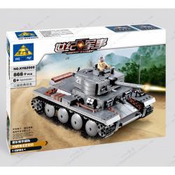 เลโก้จีน Kazi82009 รถถัง