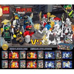 เลโก้จีน LELE.31088 ชุด Ninja Go Movie 2in1