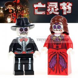 เลโก้จีน WM.8001-8002 ชุด Minifigures (สินค้ามือ 1 ไม่มีกล่อง)