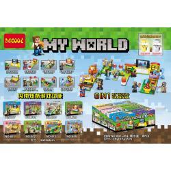 เลโก้จีน Decool 807-814 ชุด My World Carnival 8in1