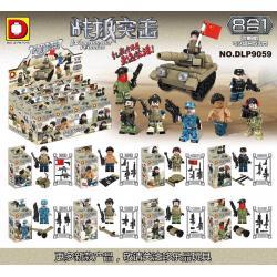 เลโก้จีน DLP.9059 ชุด Wolf Assault Warrior