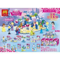 เลโก้จีน LELE.37022 ชุด Happy Princess