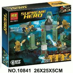 เลโก้จีน BELA.10841 ชุด Justice League Battle Of Atlantis