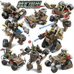 เลโก้จีน Kazi.7703 ชุด War Robot แปลงร่าง