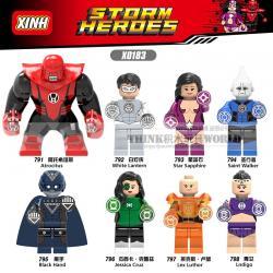 เลโก้จีน XINH.791-798 ชุด Super Heroes (สินค้ามือ 1 ไม่มีกล่อง)