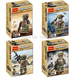 เลโก้จีน Decool308-311 Modern War 2