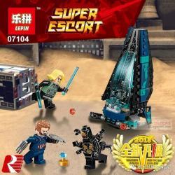 เลโก้จีน LEPIN.07104 ชุด Avengers Infinity War Outrider Dropship Attack
