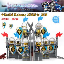เลโก้จีน AX.9801 ชุด Castle (สินค้ามือ 1 ไม่มีกล่อง)