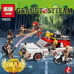 เลโก้จีน LEPIN.16032 ชุด Ghostbusters Ecto-1 & 2