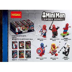 เลโก้จีน Decool.0274-0279 ชุด Spiderman