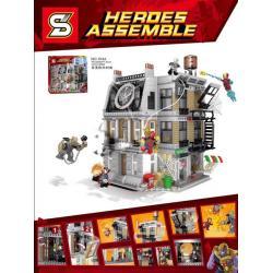 เลโก้จีน SY.1044 ชุด Avengers Infinity War Sanctum Sanctorum Showdown