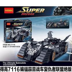 เลโก้จีน Decool7116 ชุด The Ultimate Batmobile