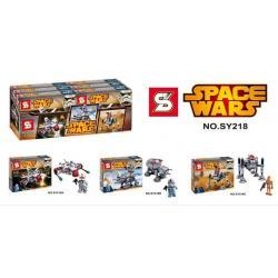 เลโก้จีน SY 218A,218B,218C ชุด Starwars