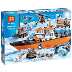 เลโก้จีน Bela10443 ชุด Urban Arctic
