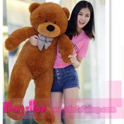 ตุ๊กตาหมียิ้ม brown 1.2 เมตร