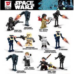 เลโก้จีน Dargo no.910 ชุด Starwars 2in1