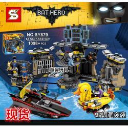 เลโก้จีน SY.879 ชุด Batman Movie Batcave Break In