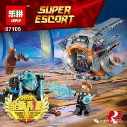 เลโก้จีน LEPIN.07105 ชุด Avengers Infinity War Thor Weapon's Quest