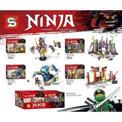 เลโก้จีน SY.1019 ชุด Ninja Go Thunder Swordsman