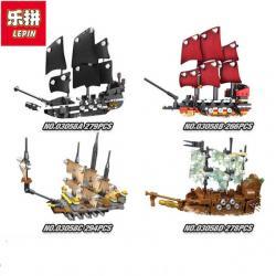 เลโก้จีน LEPIN.03058 ชุด Pirates of the Caribbean