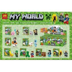 เลโก้จีน LELE33009 ชุด Minecraft