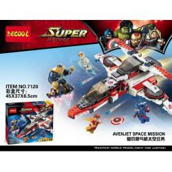เลโก้จีน DECOOL.7120 ชุด Avenjet Space Mission