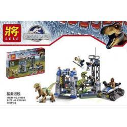 เลโก้จีน LELE 79180 ชุด Jurassic World Raptor Escape