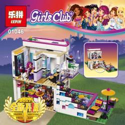 เลโก้จีน LEPIN.01046 ชุด Friends Livi's Pop Star House