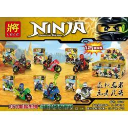 เลโก้จีน LELE79337 ชุด Ninja Go+มอเตอร์ไซต์