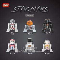 เลโก้จีน XINH.525-530 ชุด Starwars (สินค้ามือ 1 ไม่มีกล่อง)