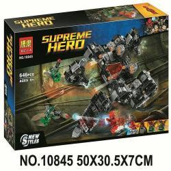 เลโก้จีน BELA.10845 ชุด Justice League Knightcrawler Tunnel Attack