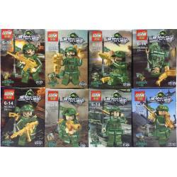 เลโก้จีน LEPIN.7903 ชุด ทหารพราง