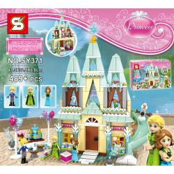 เลโก้จีน SY 371 ชุด Princess Arendelle Castle Celebration