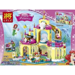 เลโก้จีน LELE 79278 ชุด Little Mermaid Ariel's Undersea Castle