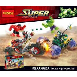 เลโก้จีน Decool.7125 ชุด Hulk Vs. Red Hulk