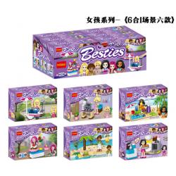 เลโก้จีน Decool.80211-80216 ชุด Bestie