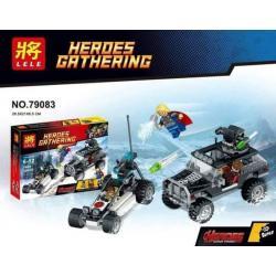 เลโก้จีน LELE 79083 ชุด The Avengers Thor