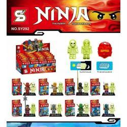 เลโก้จีน SY292 ชุด Ninja Go ตัวใส+เรืองแสง 2in1