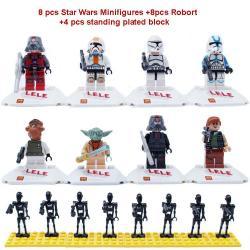 เลโก้จีน LELE78014 Starwars 2in1
