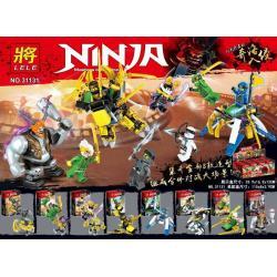 เลโก้จีน LELE.31131 ชุด Ninja Go