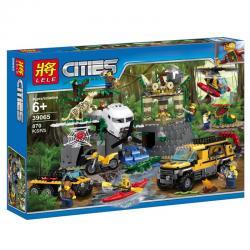 เลโก้จีน LELE.39065 ชุด Jungle Exploration