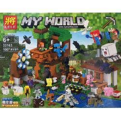 เลโก้จีน LELE.33163 ชุด Minecraft