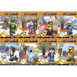 เลโก้จีน DLP9031 ชุด Minecraft Happydoggy 8in1