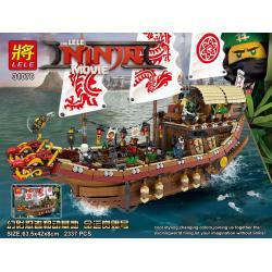 เลโก้จีน LELE.31076 ชุด Ninja Go Movie Destiny Bounty