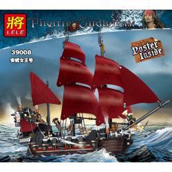 เลโก้จีน LELE.39008 ชุด Pirates of the Caribbean Queen Anne's Revenge
