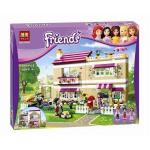 เลโก้จีน Bela.10164 ชุด Friends Olivia's house